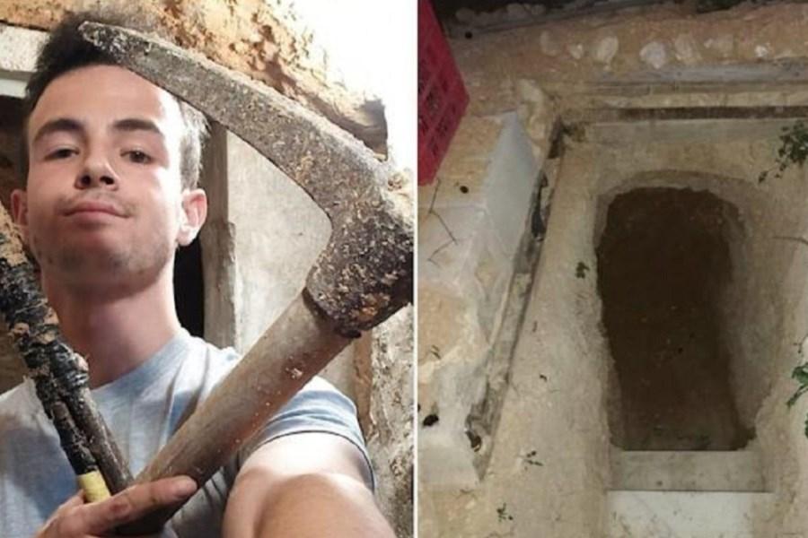 حفر یک غاز زیرزمینی پس از مشاجره با پدر و مادر!