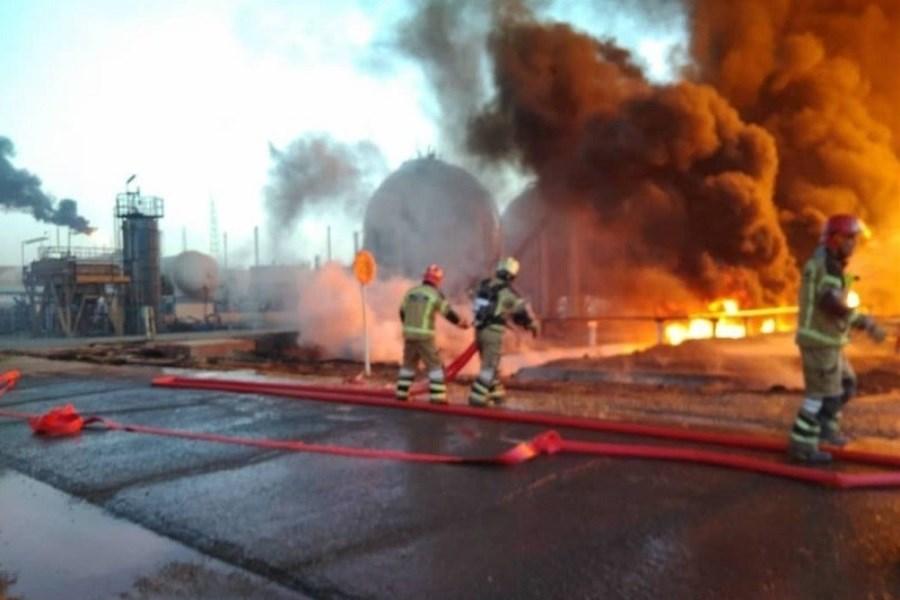 تشکیل تیم تخصصی بیمه ایران برای ارزیابی خسارت آتش سوزی پالایشگاه تهران