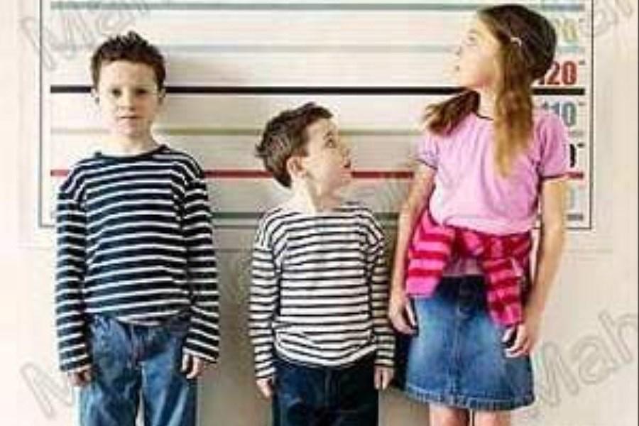 دلایل کوتاهی قد کودکان و نوجوانان
