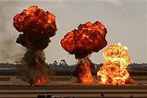 تصویر  انفجار مرگبار خانه در سرنمک