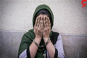 تصویر  بازداشت زن سابقه دار که بوشهر را به هم ریخته بود