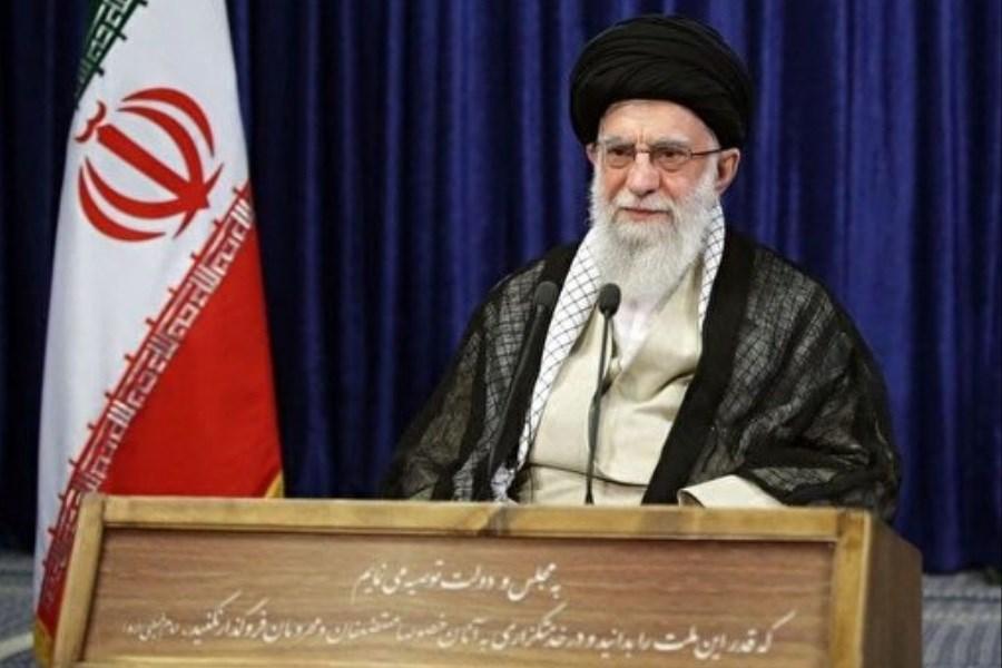 تصویر سخنرانی رهبری در آستانه برگزاری انتخابات تا دقایقی دیگر