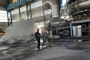 تصویر  آخرین وضعیت حادثه فولاد زرند