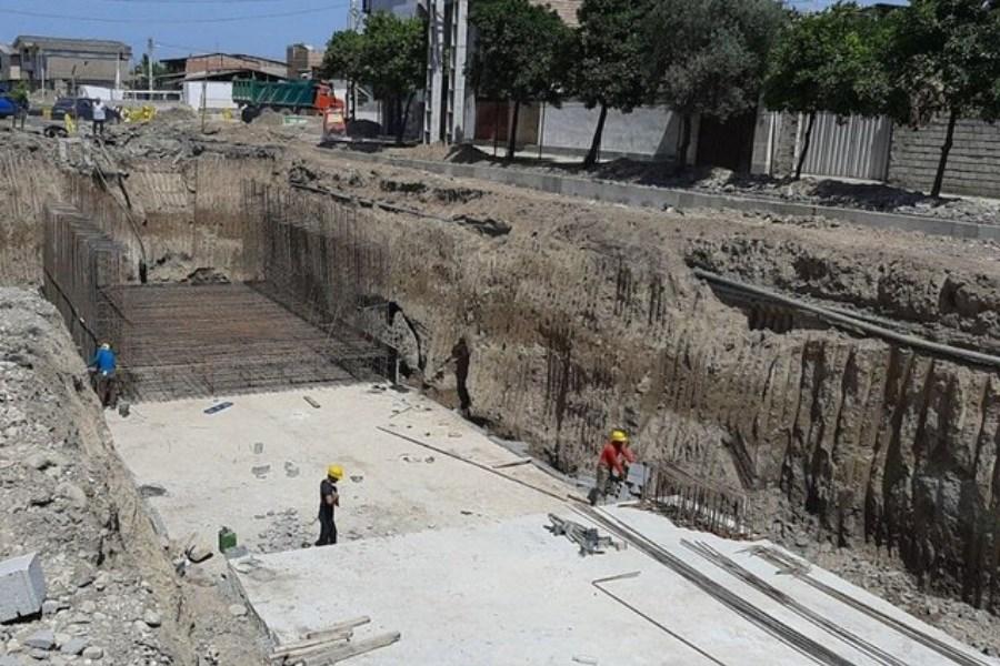 پروژه زیرگذر افسران گرگان 30 درصد پیشرفت داشته است