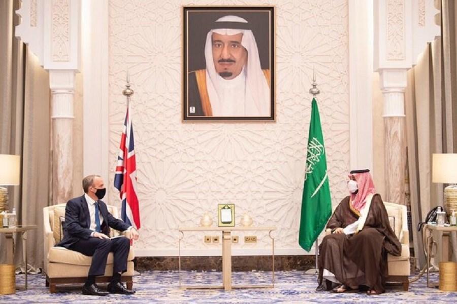 ایران؛ موضوع گفتوگوی وزیر خارجه انگلیس با ولیعهد سعودی