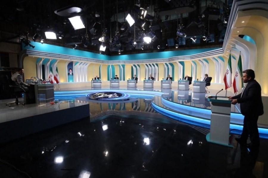 تصویر پخش مناظرههای انتخاباتی با ترجمه همزمان برای ناشنوایان