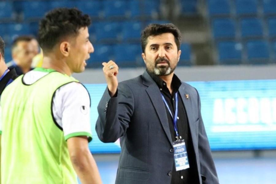 تصویر اصرار ناظم الشریعه به اضافه شدن یک مربی به کادرفنی تیم ملی