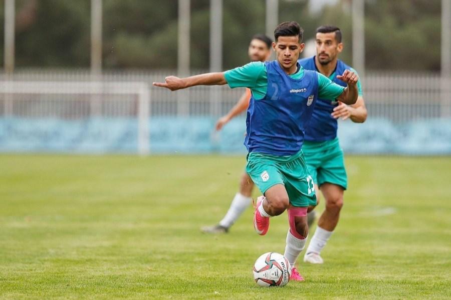 بازی با بحرین، اولین بازی رسمی قایدی در تیم ملی