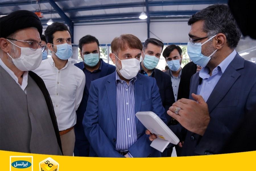 تصویر برای اولین بار در ایران، تولید مودم بومی ثابت و همراه با حمایت ایرانسل آغاز شد