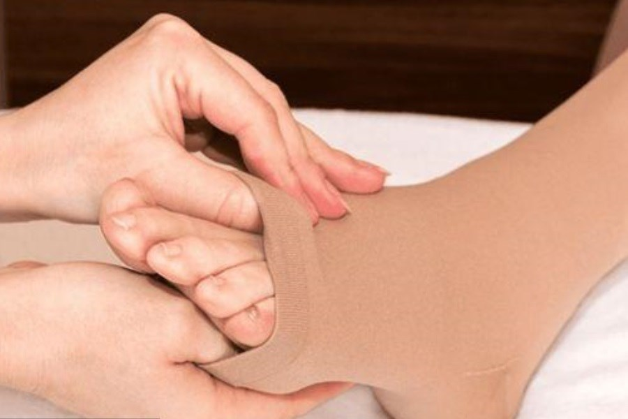 تصویر نقش ساپورتهای پا در کاهش درد