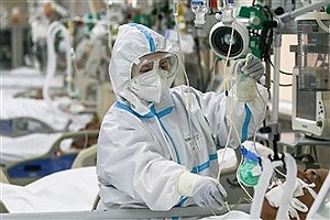 تصویر  بستری۷۱۰بیمار مبتلا به سندروم حاد تنفسی در مراکز درمانی طی 24 ساعت گذشته