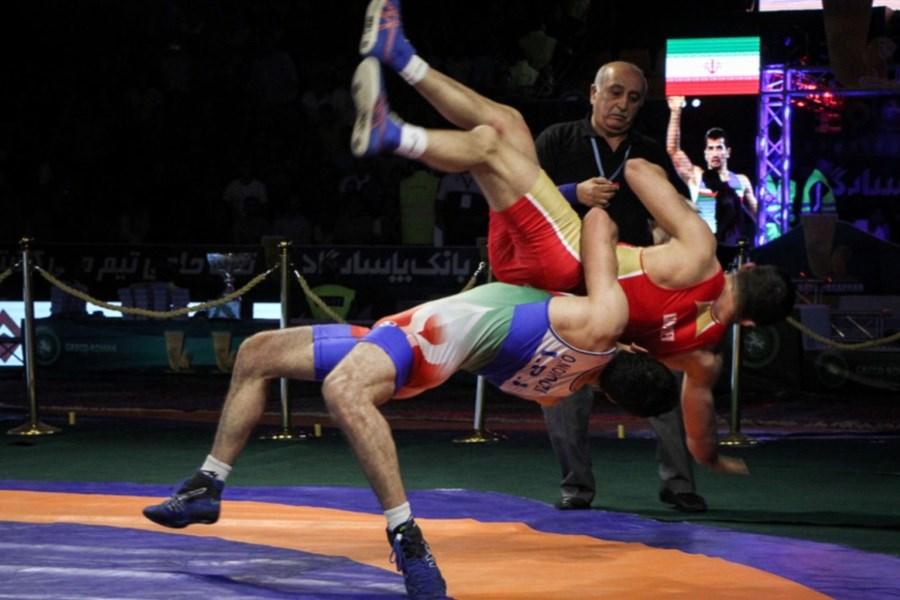 تیم کشتی آزاد ایران با کسب چهار مدال به کار خود پایان داد!