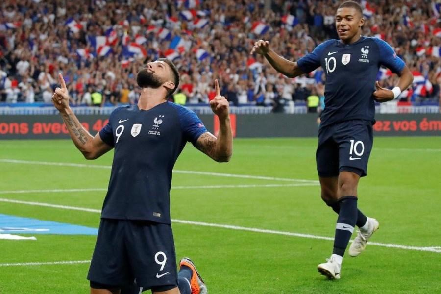 تصویر تنش در تیم ملی فرانسه