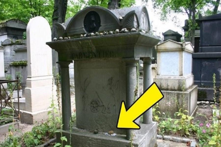 تصویر ماجرای جالب قبر سیبزمینی در یک گورستان