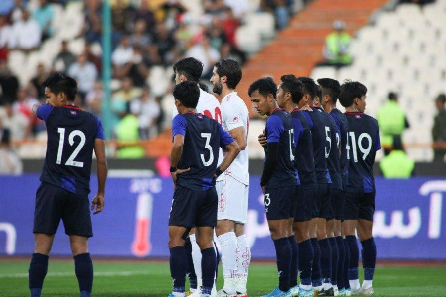تصویر داوران بازی ایران-کامبوج مشخص شدند