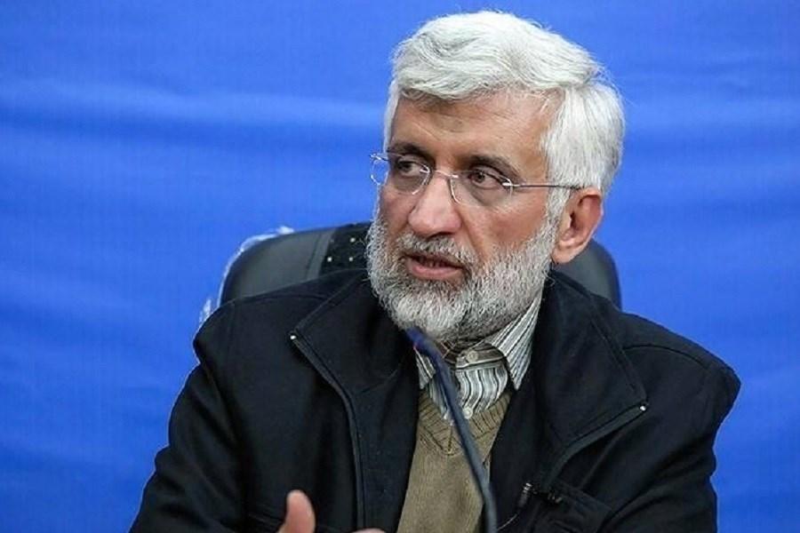تصویر تکذیب کنار کشیدن سعید جلیلی از انتخابات