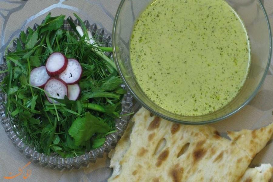 تصویر روش تهیه قروتی غذای محلی خراسان شمالی