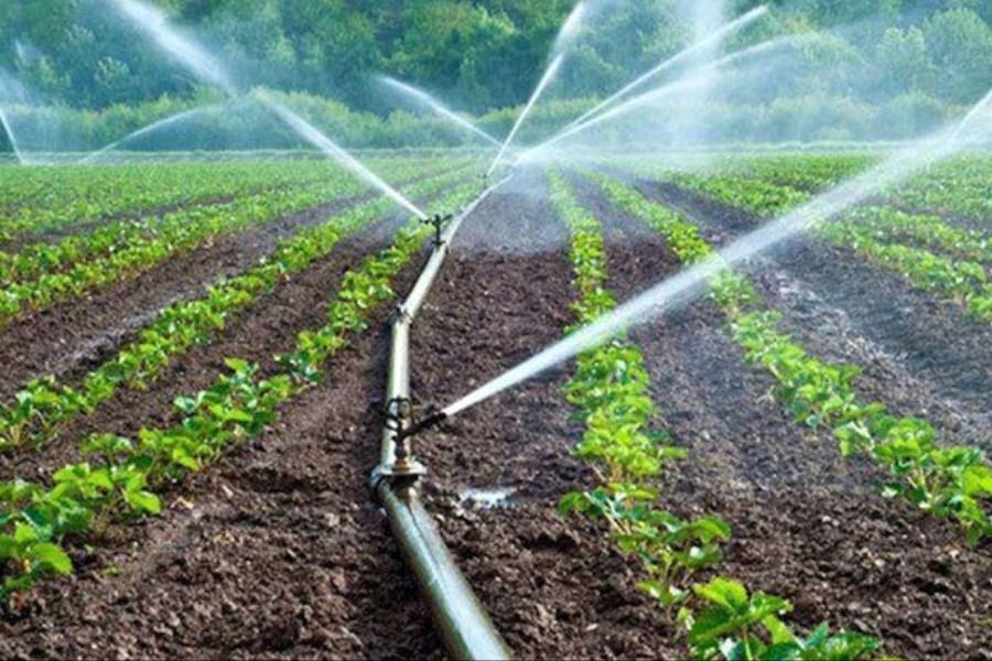 کارکرد آبیاری کشور بیش از ۴۵ درصد است