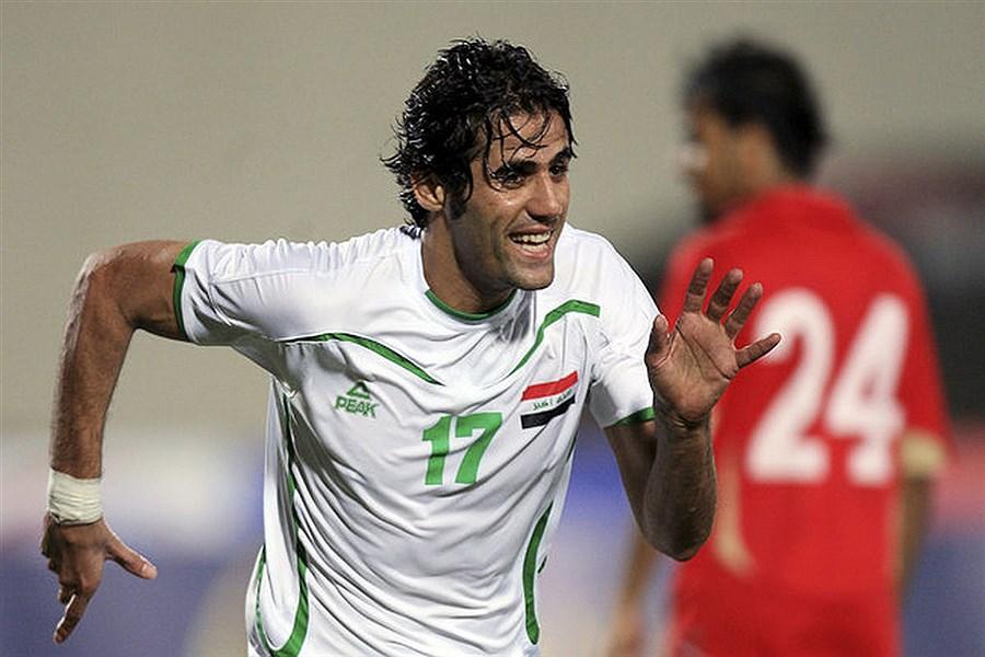 کری خوانی کاپیتان تیم ملی عراق برای ایرانی ها