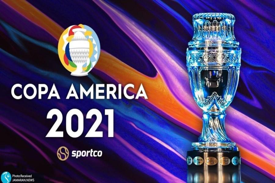 برنامه کامل رقابتهای کوپا آمریکا 2021