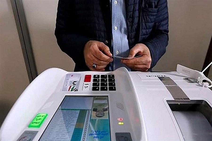 برگزاری انتخابات تمام الکترونیک شوراها در ۲۴ مرکز استان و ۳۳ شهر