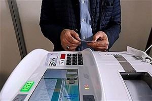تصویر  برگزاری انتخابات تمام الکترونیک شوراها در ۲۴ مرکز استان و ۳۳ شهر