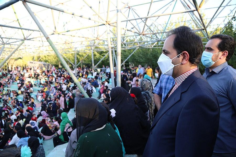 جشنوارههای شاد و مردمی در بوستانهای شوش و هرندی