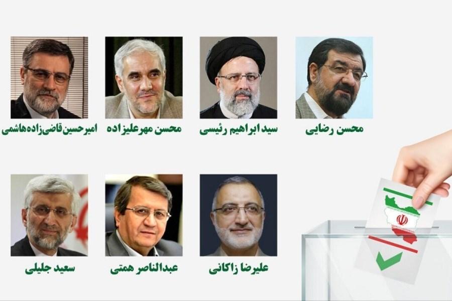 تصویر نامزدهای ریاست جمهوری و فرافکنی مسئولیتها