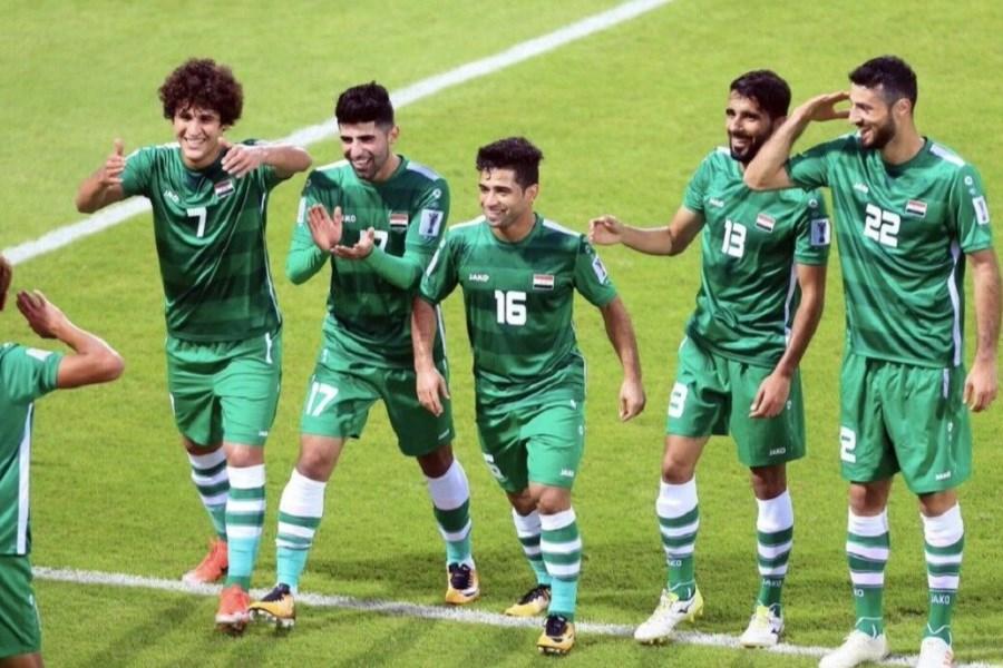 کری خوانی علی عدنان برای بازی با ایران