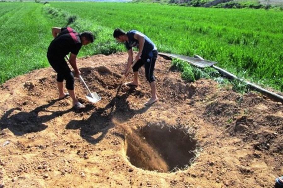 39حلقه چاه غیرمجاز در گلستان مسدود شد