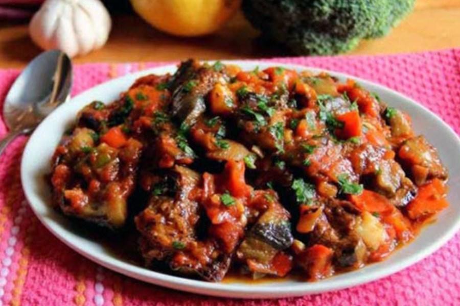 خوراک بادمجان کبابی به سبک ترکیهایها