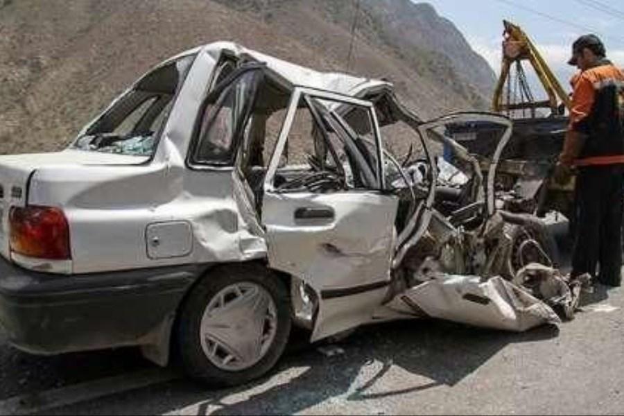 هشت مصدوم در حادثه رانندگی در شهرستان لنجان اصفهان