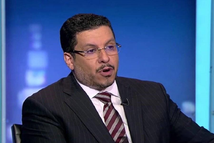 درخواست آزمندانه وزیر خارجه دولت مستعفی یمن از اتحادیه اروپا برای فشار بر ایران
