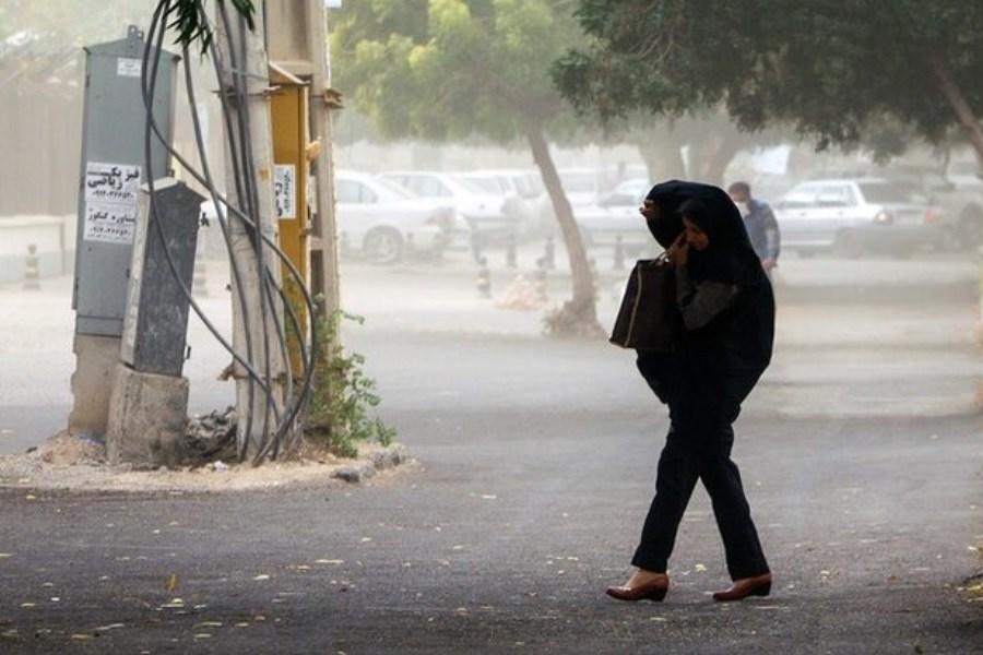 پیشبینی باد و گردوخاک برای شرق و شمال شرق اصفهان
