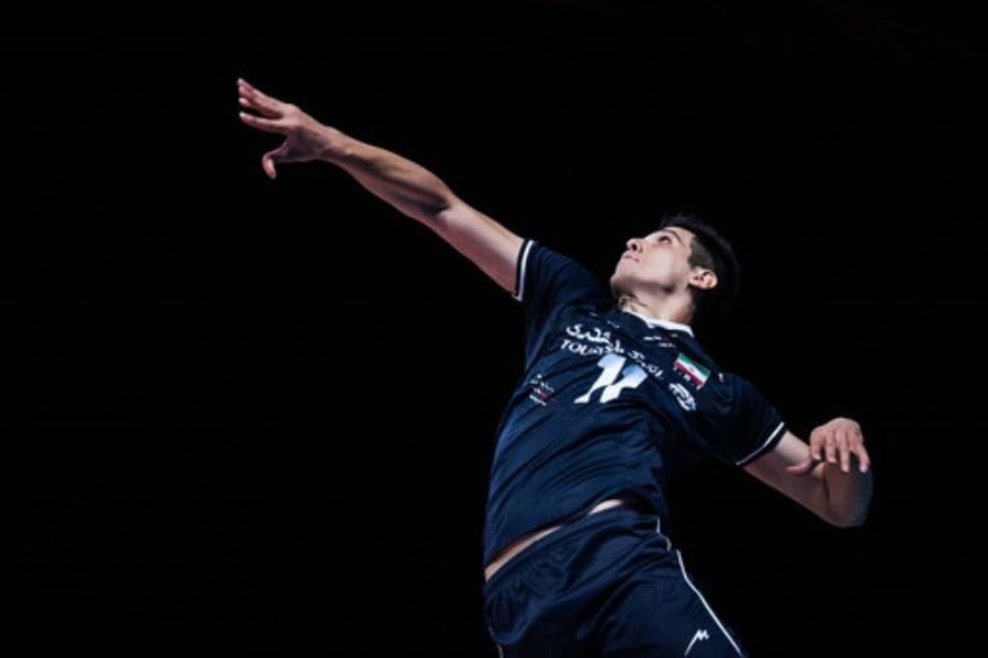 رسانه رسمی لیگ ملتهای والیبال از ستاره جوان تیم ملی ایران تمجید کرد