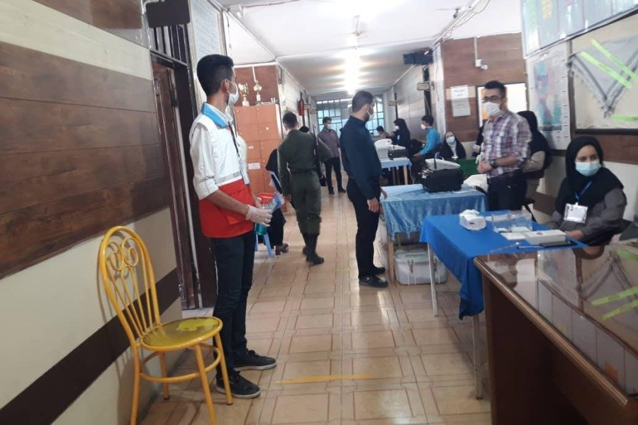 اجرای طرح حامیان سلامت جمعیت هلال احمر در حوزه های انتخاباتی قزوین