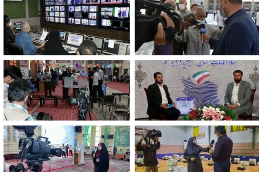 پوشش بیش از ۱۲۰۰ ارتباط زنده تلویزیونی در حماسه ۲۸ خرداد