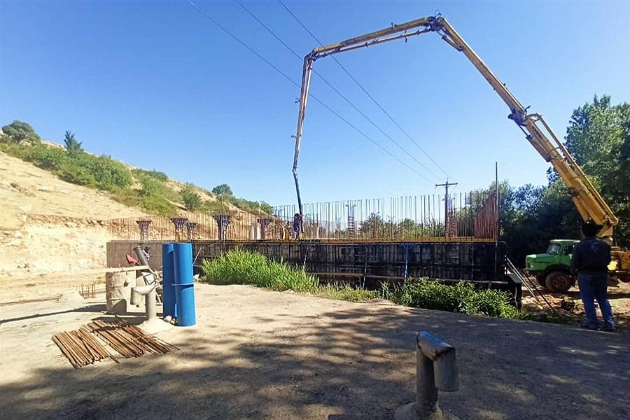 احداث چهار مخزن ذخیره آب شرب در نهاوند