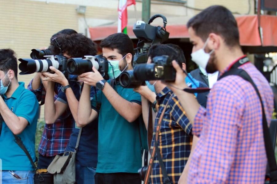 ۴۰ خبرنگار و عکاس حضور و مشارکت مردم را به تصویر کشیدند