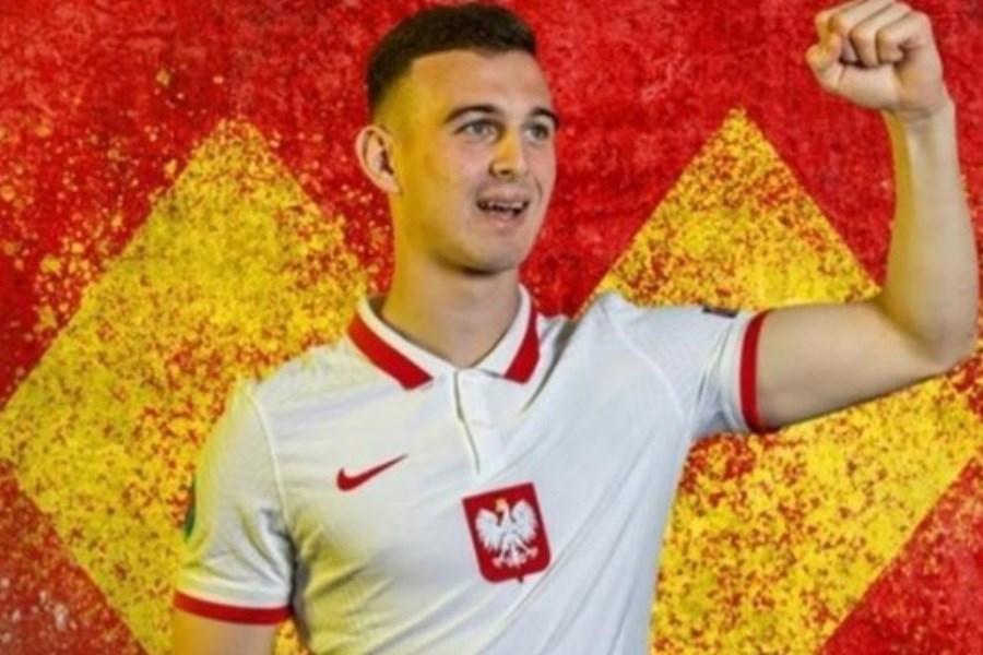 کاسپر کوزلوسکی جوان ترین بازیکن یورو 2020