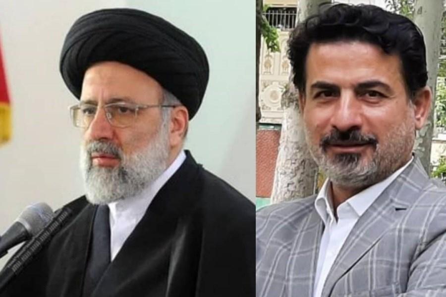 تصویر پیام تبریک دبیرکل ائتلاف عدالتخواهان ایران اسلامی به ایت الله رئیسی