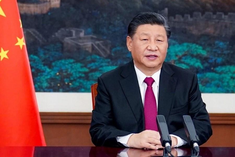 پیام رئیس جمهور چین به رئیسی
