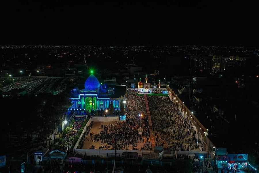 جشن بزرگ زیر سایه خورشید در یزد به روایت تصویر