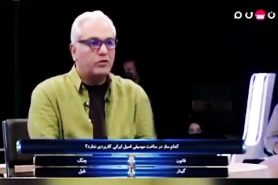 واکنش خندهدار مهران مدیری به خرمگس در برنامه «دورهمی»