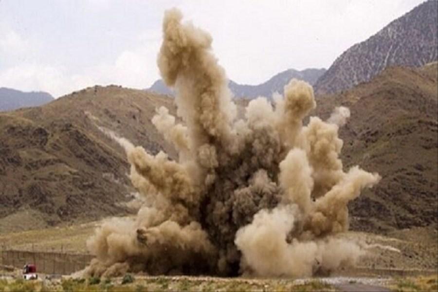 انفجار مین دستان سرباز وظیفه را قطع کرد