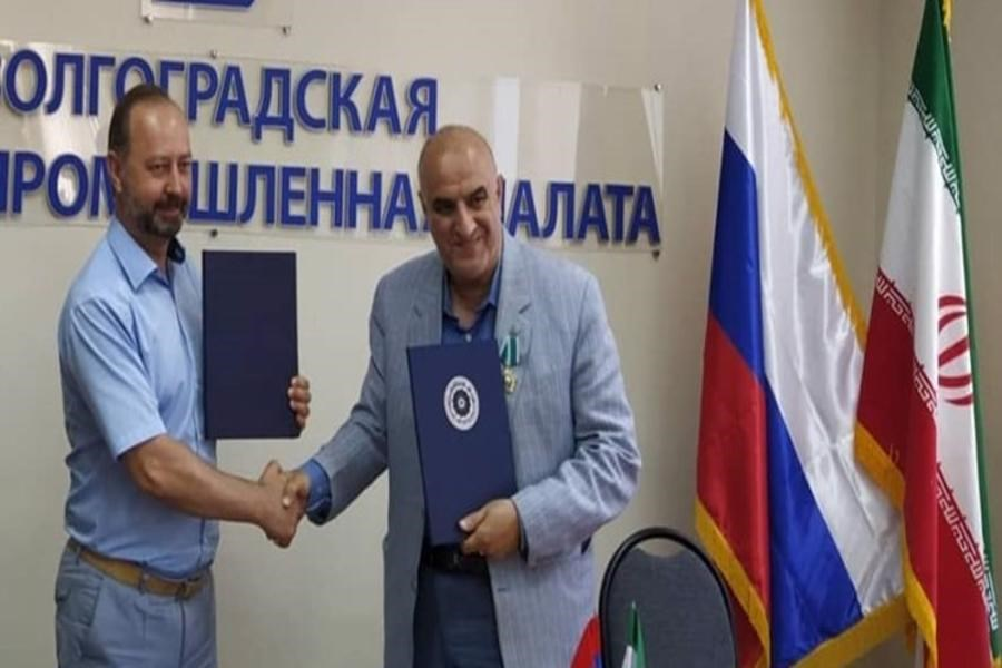 توسعه روابط تجاری و اقتصادی بین استانهای گیلان و ولگاگراد روسیه