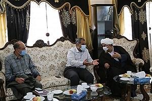 تصویر  دیدار استاندار قزوین با رئیس کل دادگستری استان