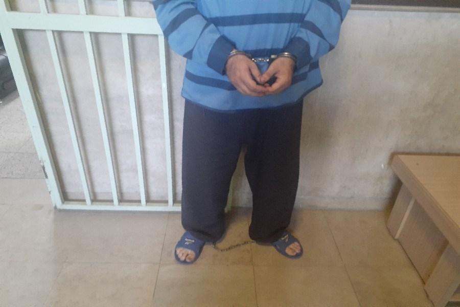 سارقی که بین زندان و زندگی مانده است +عکس و فیلم