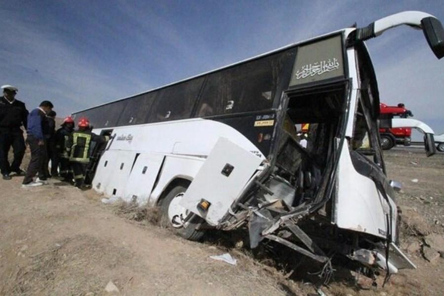 تصویر راننده اتوبوس حامل خبرنگاران بازداشت شد