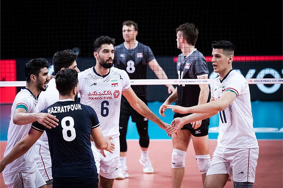 دو ایرانی در جمع بهترینهای لیگ ملتهای والیبال